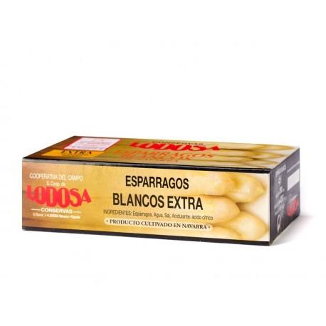 Espárragos de Lodosa Extra Grueso 4-6 frutos, Lodosa