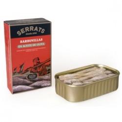 1 Lata 120 gr. de Sardinillas en aceite de oliva, Bermeo