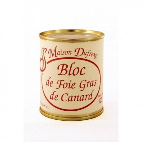 Bloc de Foie 125 gr., Francia