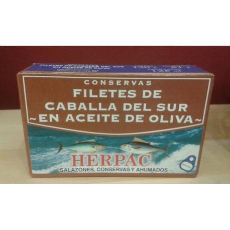 Filetes de Caballa del Sur en Aceite de Oliva, Barbate