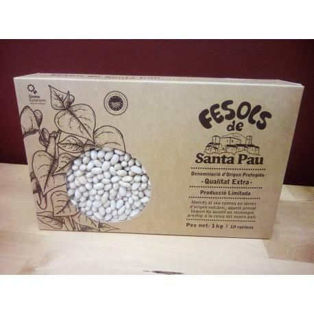 Fesols de Santa Pau 1000gr., Santa Pau