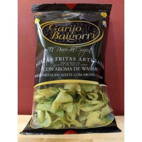 Patatas Fritas con Wasabi Garijo Baigorri bolsa 130 gr., Soria