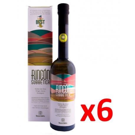 Aceite de Oliva Virgen Extra Rincón de la Subbética DOP Priego de Córdoba Caja 6 botellas
