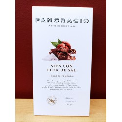Chocolate Pancracio con Nibs y Flor de Sal