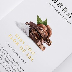 Chocolate con Nibs y Flor...