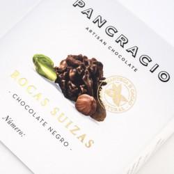 Rocas Suizas de Chocolate Negro Pancracio
