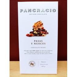 Chocolate Pancracio con Pasas y Nueces