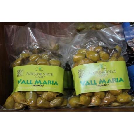 """Aceituna verde variedad """"Caspe"""" Vall María, Caspe"""