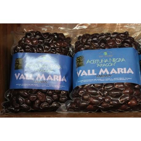 "Aceituna negra variedad ""Aragón"" Vall María, Fabara"