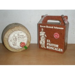 Queso Roncal El Pastor Roncales, Burgui