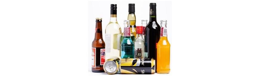 Bebidas, vino, cerveza, cava, sidra... con envío único